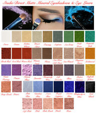 MINERAL NATURAL PURE MAKEUP MATTE LOOSE EYESHADOW EYE LINER SHADOW FULL SIZE USA