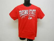New Fresno State Bulldogs Adult sizes M-L-XL-2XL Red Shirt by Soffe