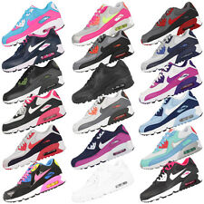 NIKE AIR MAX 90 MESH GS WOMEN CASUAL SHOES TRAINERS ESSENTIAL OG BW PREMIUM 1