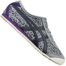 Asics Onitsuka Tiger Mexico 66 Leopard Women's Sneakers d46rj-1316 Shoes Grey