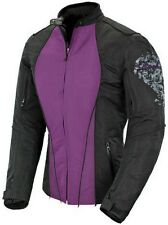 Joe Rocket Alter Ego 3.0 Womens Textile Motorcycle Jacket - Purple/Black