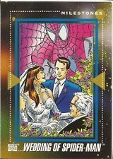 Wedding of Spider-Man 1992 Marvel Universe Series 3 #199 Wedding trading card