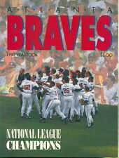 1992 Altlanta Braves Yearbook
