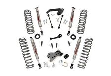 "Rough Country 4.0"" Suspension Lift Kit Jeep Wrangler JK 2dr. 4WD 682S"