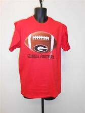 NEW University of Georgia Bulldogs Adult Mens Sizes S-M-L-XL Red Football Shirt