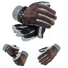 Soft Mens Warm Gloves Non-slip Thicken Outdoor Cycling Skiing Gloves New