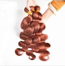 3 Bundles Brazilian Body Wave Virgin Hair Weave 100% Human Hair Extensions #33