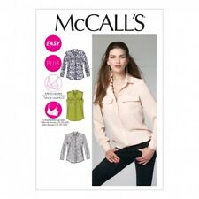 McCalls Ladies Easy Sewing Pattern 6436 Shirts Tops with Cup Sizes (McCalls-6...