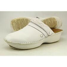Nurse Mates Gala Women US 9 White Clogs Pre Owned 2782