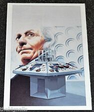Dr Who The First Doctor Postcard
