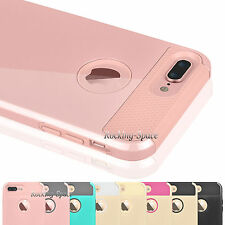 For iphone 7 Plus PC Shockproof Case Hybrid Armor Impact Defender Hard Cover