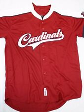 NEW Mens STITCHES St Louis CARDINALS Red MLB Baseball style Jersey