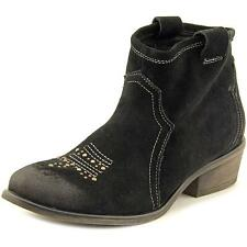 Charles By Charles David Honey    Round Toe Suede  Ankle Boot