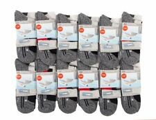 L080 LADIES 12prs COOL MAX EXTRA GRIP PERFORMANCE OUTDOOR RUNNING TRAINER SOCKS