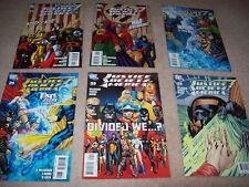 6 x Justice society of America comic issues 32 33 34 35 36 37 dc comics