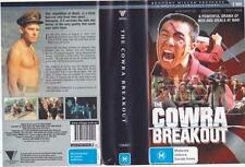 THE COWRA BREAKOUT  VHS VIDEO PAL~A RARE FIND