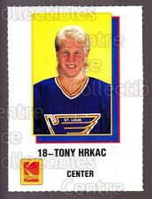 1988-89 St. Louis Blues Kodak #10 Tony Hrkac
