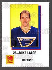 1988-89 St. Louis Blues Kodak #12 Mike Lalor