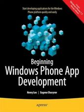 NEW Beginning Windows Phone App Development by Lee Henry BOOK (Paperback)