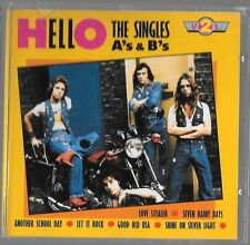 Cd HELLO - the singles as and bs vol 2 - 1970s glam rock pop excellent condition