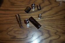 CRAFTSMAN 1/2 IN DRIVE METRIC 6 POINT DEEP SOCKETS 12 - 21 MM SIZES CHROME