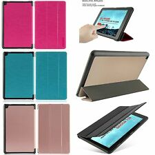 Folio Wake/Sleep Case Stand Skin Cover For All-New Amazon Fire HD 8 2016 6th Gen
