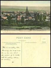South Africa, General View of Winburg, Church Cathedral Clock Tower Old Postcard