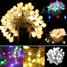 20/40 ROUND BALL FAIRY LED STRING LIGHTS PARTY PATIO WEDDING Christmas DECOR