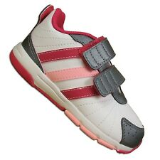 ADIDAS SNICE 3 CF CHILDREN WALKER SHOES 3S ESS BABY SNEAKER WHITE ROSA 24