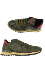 Valentino Shoes -10% Leather MADE IN ITALY Man Greens LY2S0723FCU-192