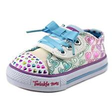 Twinkle Toes By Skechers Shuffles Hopscotch Toddler US 6 Multi Color 2381