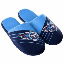 Pair Tennessee Titans Big Logo Slide Slippers Team Color House shoes BLG16 Style