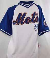 NEW Youth Kids Boys STITCHES New York METS MLB White Stitched Baseball Jersey
