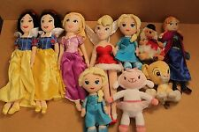 DISNEY VARIOUS SOFT TOYS PRINCESS LION KING AND MORE MULTI LISTING - YOU CHOOSE