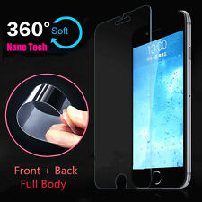 Front + Back Nano Explosion-proof Soft Full Screen Protector For iPhone 7 / Plus