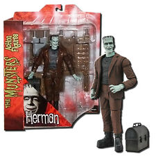 The Munsters Deluxe Action Figure Herman Munster - Diamond Select Toys