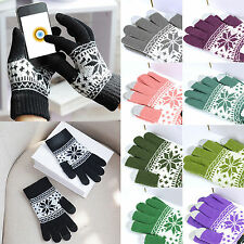Touch Screen Magic Gloves Unisex Mens Women Ladies Winter Christmas Xmas Gifts