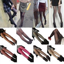 Fashion Womens Glitter Shimmer Sheer Pantyhose Opague Stockings Tights Hosiery T