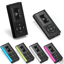 Portable Mini USB Music Media MP3 Player LCD Screen Support 16G Micro SD TF Card
