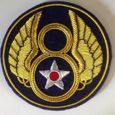 Superior large USAAF 8th AIR FORCE  BULLION  patch