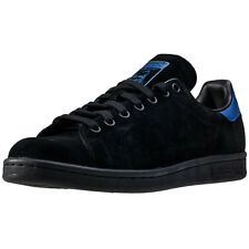 adidas Stan Smith Mens Trainers Black Blue New Shoes