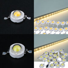 100PCS Full Watt 1W High Power LED Lamp Beads 110-120LM Light Spotlight Bulbs