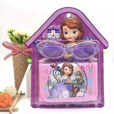 Lot Sofia The First Glasses and Purses Wallets Set Kids' birthday Gifts L198