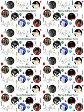 Michael Jackson Personalised Birthday Gift Wrapping ADD NAME/S CHOOSE BACKGROUND
