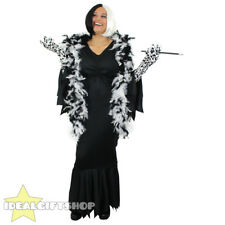 WOMENS DELUXE EVIL DOG LADY BOB WIG FANCY DRESS ACCESSORIES FILM MOVIE CHARACTER