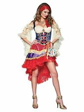 Elite Sexy Good Fortune Teller Gypsy Fancy Dress Costume