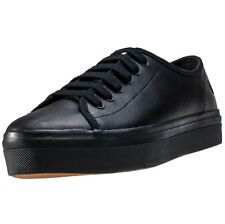 Fred Perry Phoenix Flatform Womens Trainers Black Black New Shoes