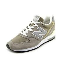 New Balance M996 Men  Round Toe Suede Gray Fashion Sneakers