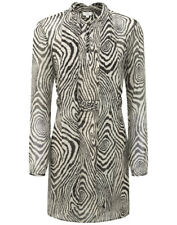 Hoss Intropia Women's Zebra Printed Dress - Black