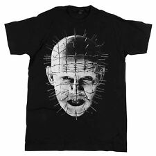 Hellraiser - Movie Pinhead Up-Close Black T-shirt - BRAND NEW